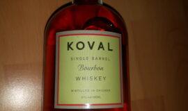 Koval Bourbon single barrel whiskey
