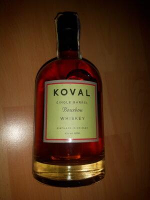 obrázek Koval Bourbon single barrel whiskey