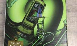 Absinth 0,7l 70% + sklenicka