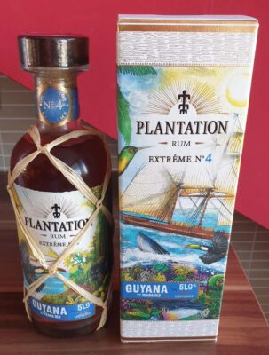 obrázek Plantation Extreme NO. 4 Guyana rum (Belgie)