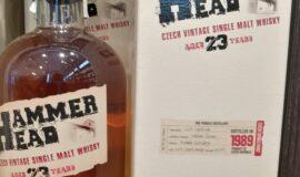 Hammer Head whisky 23yo 40,7% 0,7L