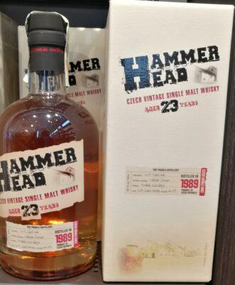 obrázek Hammer Head whisky 23yo 40,7% 0,7L