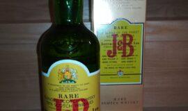 J&B Rare Whisky – retro vydání