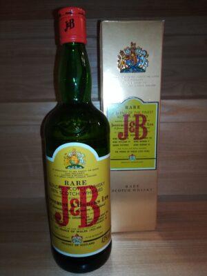 obrázek J&B Rare Whisky – retro vydání