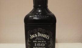 Jack Daniels 160th birthday 1850 – 2010 1 litr