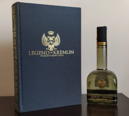 obrázek Legend of Kremlin Premium Russian Vodka 0,7L 40%vol