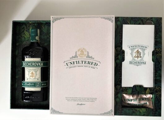 obrázek Luxusní privátní edice Becherovka Unfiltered