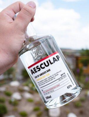 obrázek Aesculap bar červený