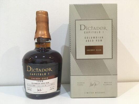obrázek Dictador Capitulo Uno 1996 Sherry cask