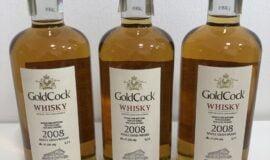 Gold Cock 2008 Single Grain whisky, 61,5% alkoholu 0,7l