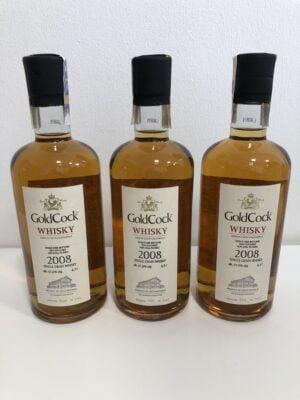 obrázek Gold Cock 2008 Single Grain whisky, 61,5% alkoholu 0,7l