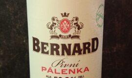 Bernard ležák 2020 – pivní pálenka