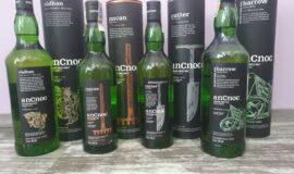 anCnoc – rúdham, rascan, cutter, barrow ( vše CZ kolek ) – highland single malt scotch whisky