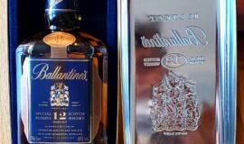 Alkohol Ballantines Aged 12 years v dárkové krabici