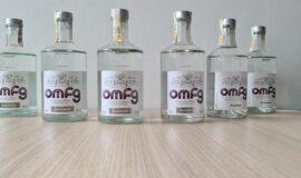 Sběratelská sada lahví OMFG od Martina Žufánka 2016 – 2021
