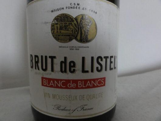 obrázek Archivní šampaňské Brut De Listel Francie 1982