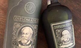 Rum Diplomatico reserva exclusiva 12 tuba