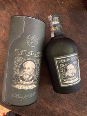 obrázek Rum Diplomatico reserva exclusiva 12 tuba