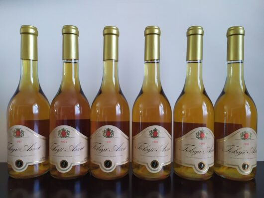 obrázek Tokajské víno 4 putňový, ročník 1995