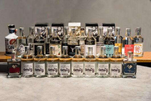 obrázek Sbírka lahví ginů Žufánek (OMFG, Bugsys, atd)