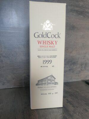 obrázek Gold Cock Single Malt 1999 0,7l 56,8%