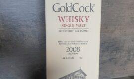 whisky GoldCock – Virgin Oak 2008 – PRODÁNO