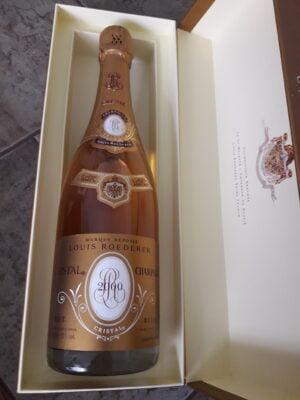 obrázek Champagne Cristal ,Luis Roederer, Francie rok 2000 v dárkovém boxu