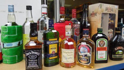 obrázek Neotevřený alkohol ze svatby