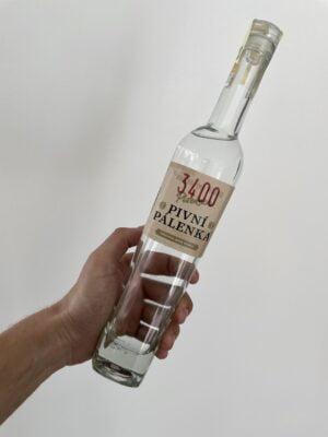 obrázek Plzeňská pivní pálenka 0,5l 38% L.E.