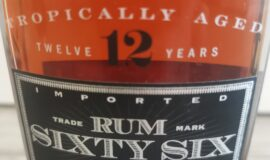 Sixty Six Family Reserve Rum 12 let