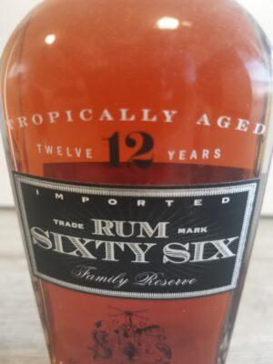 obrázek Sixty Six Family Reserve Rum 12 let