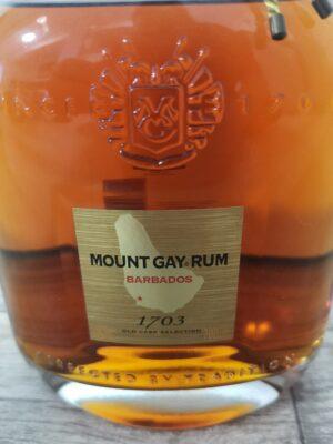obrázek Mount Gay 1703 Old Cask Selection