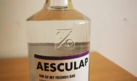 Aesculap Gin of my friends Bar