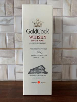 obrázek Gold Cock 1992 Moravian Apple Brandy Finish