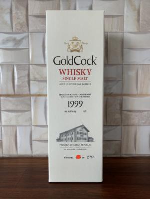 obrázek Gold Cock Single Malt Whisky 1999