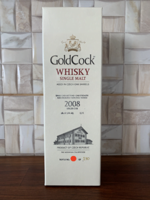 obrázek Gold Cock Virgin Oak 2008