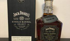 JACK DANIELS – JACK DANIEL'S SINGLE BARREL SELECT KAREL IV EDITION NO.5