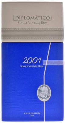 obrázek Prázdný box (krabice) – Diplomatico Single Vintage 2001