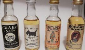 Whisky miniatury
