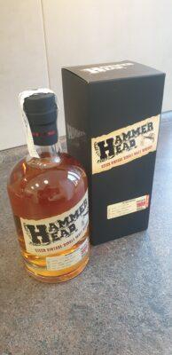obrázek HammerHead 20yo whisky.