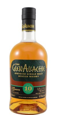 obrázek GlenAllachie 10 y.o. Cask Strength Batch 1 (57,1%)