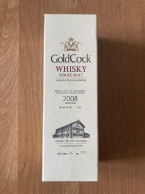 obrázek Gold Cock 2008 Single Malt 0,7l 61,5% (č. 46/270)