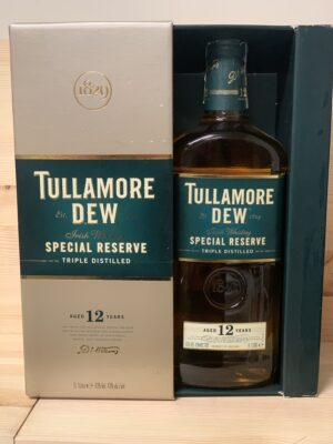 obrázek Tullamore Dew Special Reserve 12 YO 0,7l
