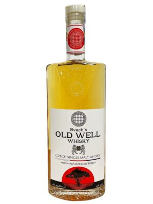 obrázek Svach's Old Well whisky Mizunara Oak Single Cask 54,8%