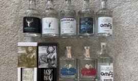 Kolekce 10ks Žufánek ginů L.E.