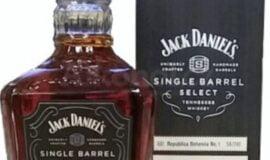 Jednu z láhví Jack Daniels Single Barrel Select No.2,3,4 nebo 5 za Jack Daniels Single Barrel Select No.1 Bohemia Edition