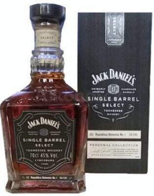 obrázek Jednu z láhví Jack Daniels Single Barrel Select No.2,3,4 nebo 5 za Jack Daniels Single Barrel Select No.1 Bohemia Edition