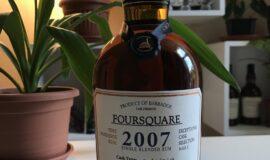 Sběratelský rum – Foursquare 2007