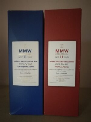 obrázek Monymusk MMW Velier Tropical vs Continental Aging 2 x 70cl