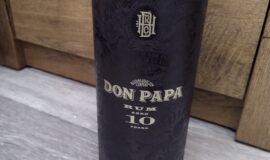Don Papa 10 Y.O. 0,7 l (tuba)